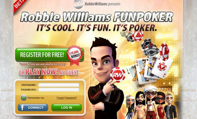 Robbie Williams Poker